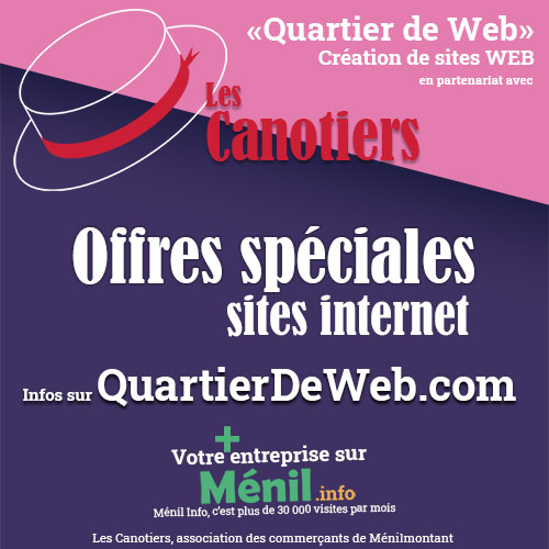 Sites internet à Paris XXe avec CCGI - Quartier de Web - Ménilmontant - Click and connect - site e-commerce - landing page - WordPress - SPIP