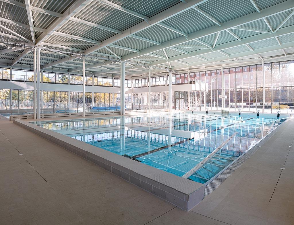 Transformer Son Bassin En Piscine une nouvelle piscine dans le xxe - piscine yvonne godard